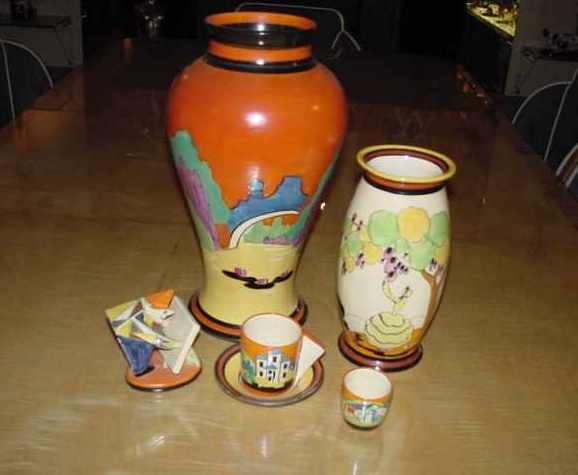 Clarice Cliff Amp Art Deco Ceramics Amp Glass Antiques
